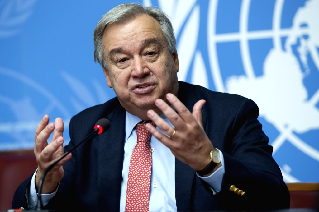 Antonio Guterres, a former prime minister of Portugal, topped the first straw poll conducted by the UN Security Council for the next Secretary General. (Credit: UN/IANS)