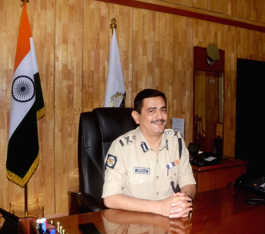 Anuj Sharma takes charge as new Kolkata Police Commissioner in Kolkata, on Feb 19, 2019. - Anuj Sharma