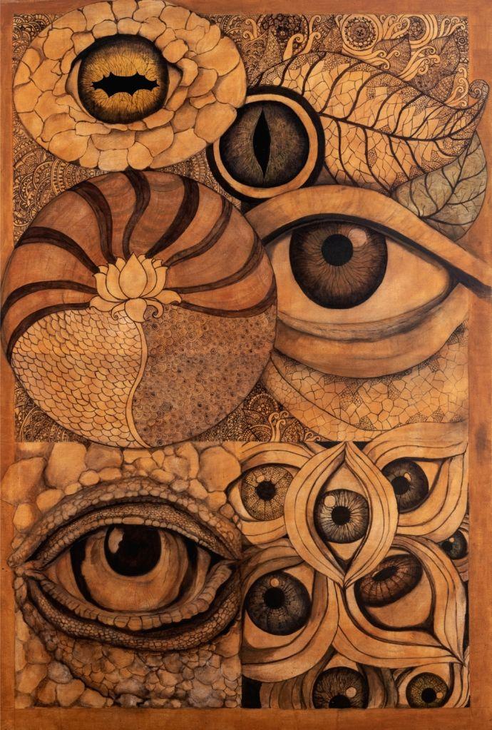 Anuja Choksi Khanna's painting. - Anuja Choksi Khanna