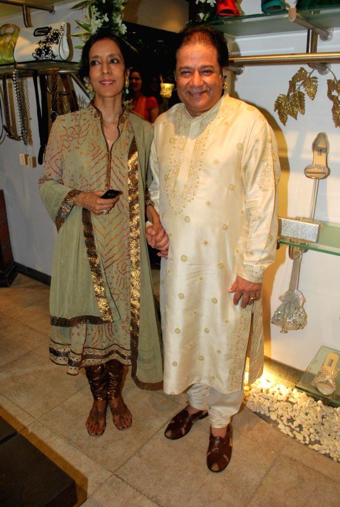 Anup Jalota at store launch of Designer Rina Shah.