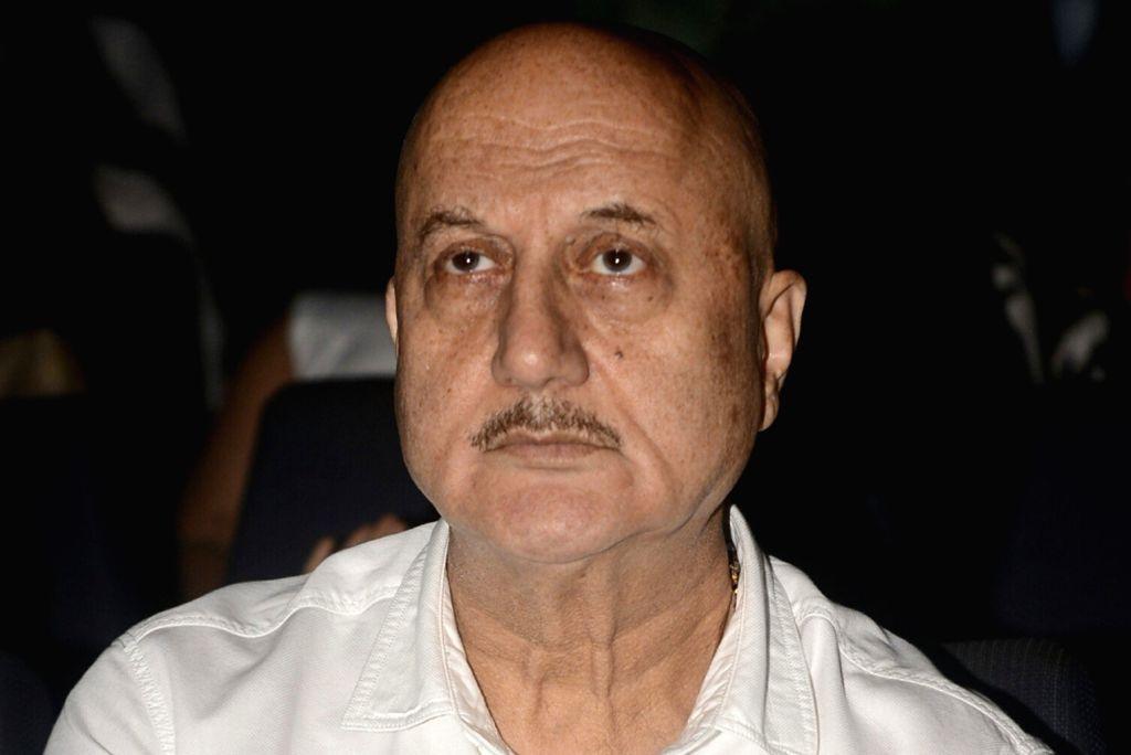 Anupam Kher. (File Photo: IANS) - Anupam Kher