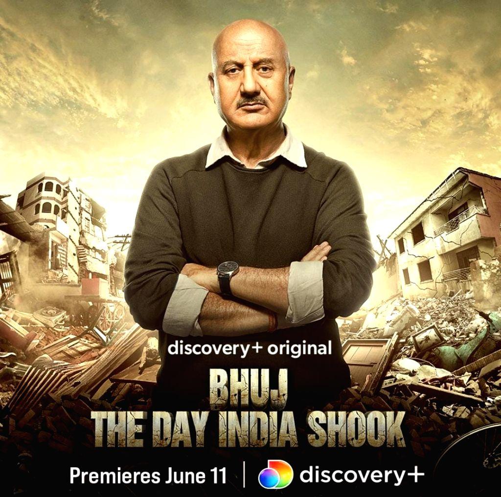 Anupam Kher narrates docu-film 'Bhuj: The Day India Shook'. - Anupam Kher