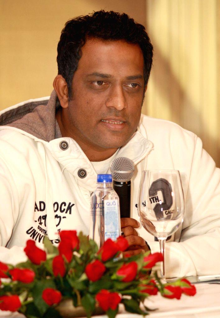 "Anurag Basu at the press conference for Zee TV Show ""India's Best Dramebaaz"" in New Delhi. (Photo: IANS/Amlan) - Anurag Basu"