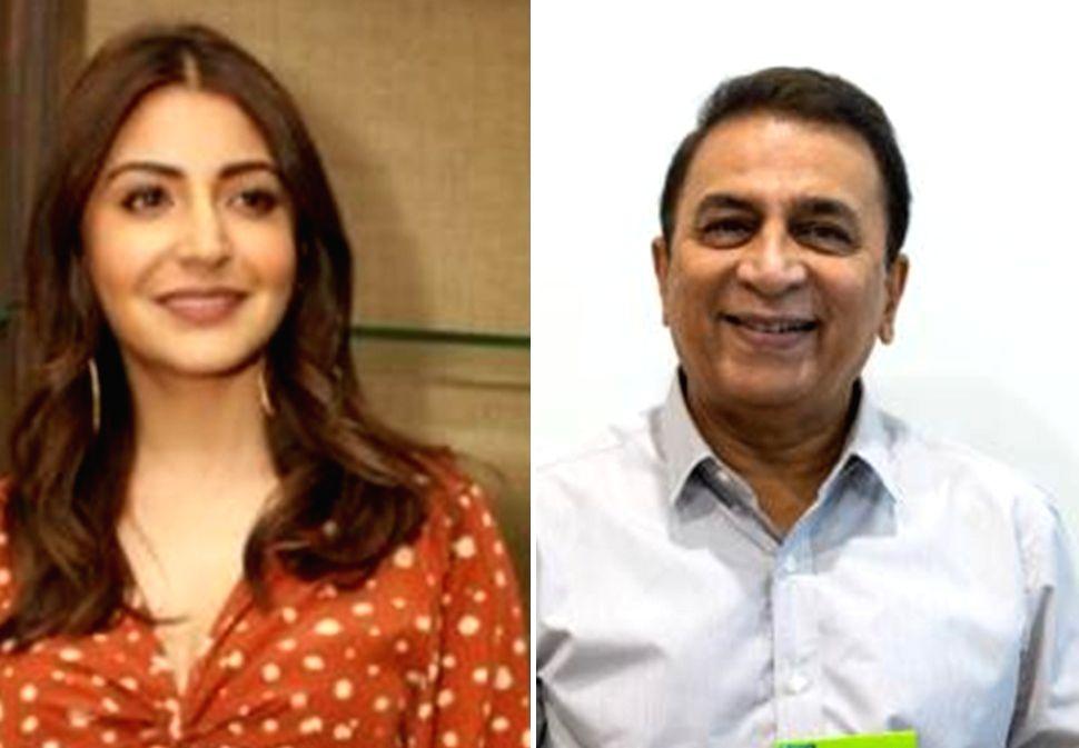 Anushka Sharma -Sunil Gavaskar - Anushka Sharma