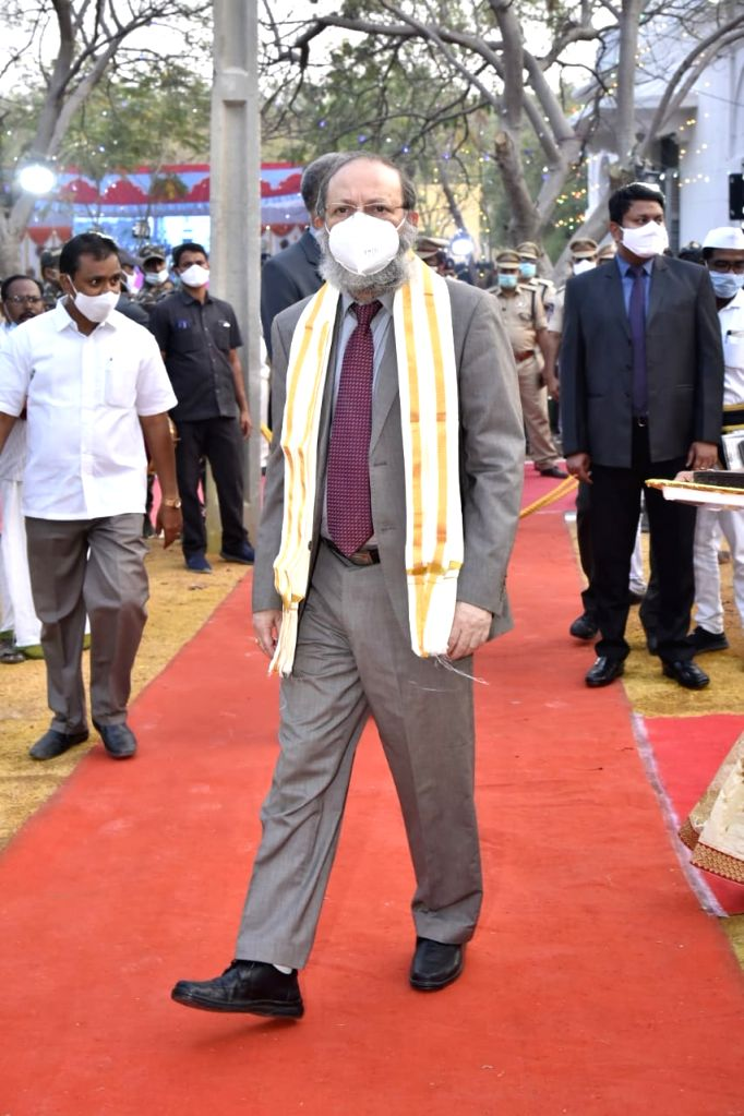 AP Chief Justice commemorates Anantapur district Court's centenary.
