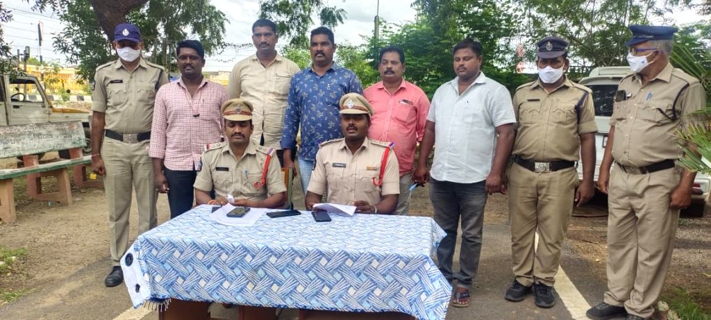 AP Police arrest one for stealing, smuggling red sanders worth Rs 20 lakh