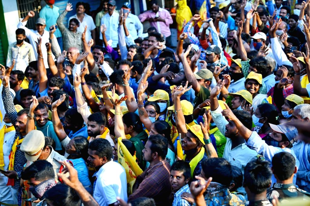 AP police threaten to drag Naidu to Court for unfounded vitriol