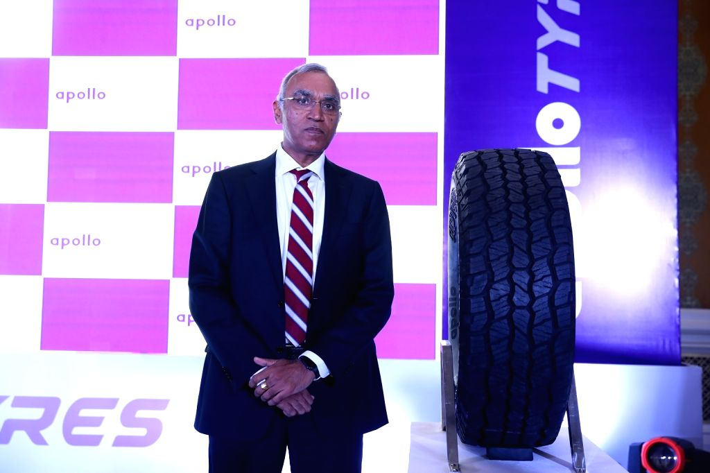 Apollo Tyres President Asia Pacific, Middle East and Africa Satish Sharma. - Satish Sharma