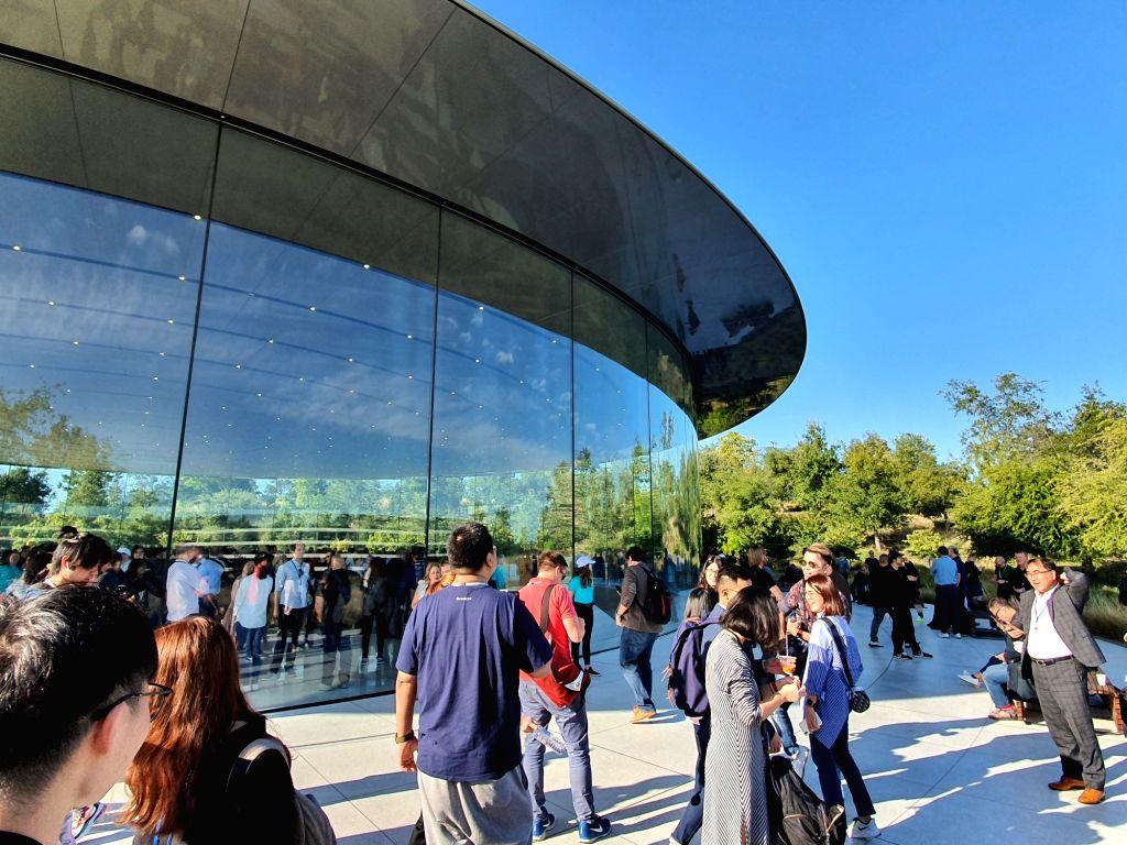 Apple, California. (File Photo: IANS)