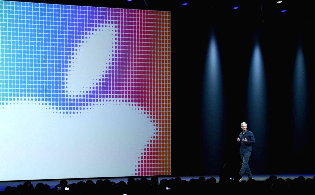 Apple CEO Tim Cook. (File Photo: IANS)