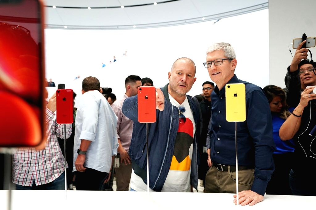Apple chief design officer Jony Ive with CEO Tim Cook. (Photo: Apple)