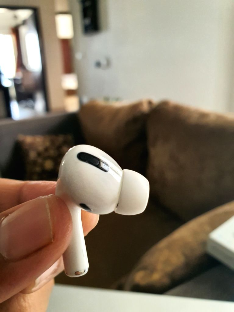Apple issues firmware update for AirPods Pro.