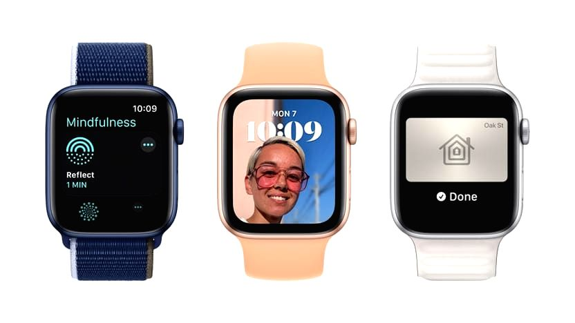 Apple Watch OS8.