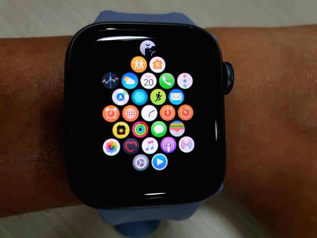 :Apple Watch Series 4. (Photo: IANS).