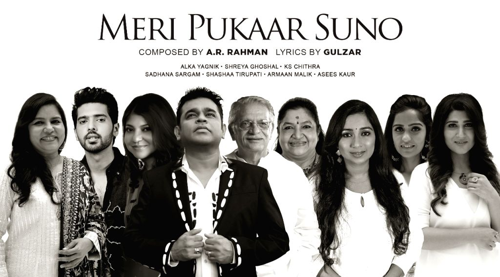 AR Rahman, Gulzar create hope anthem 'Meri pukaar suno', sung by 7 top singers