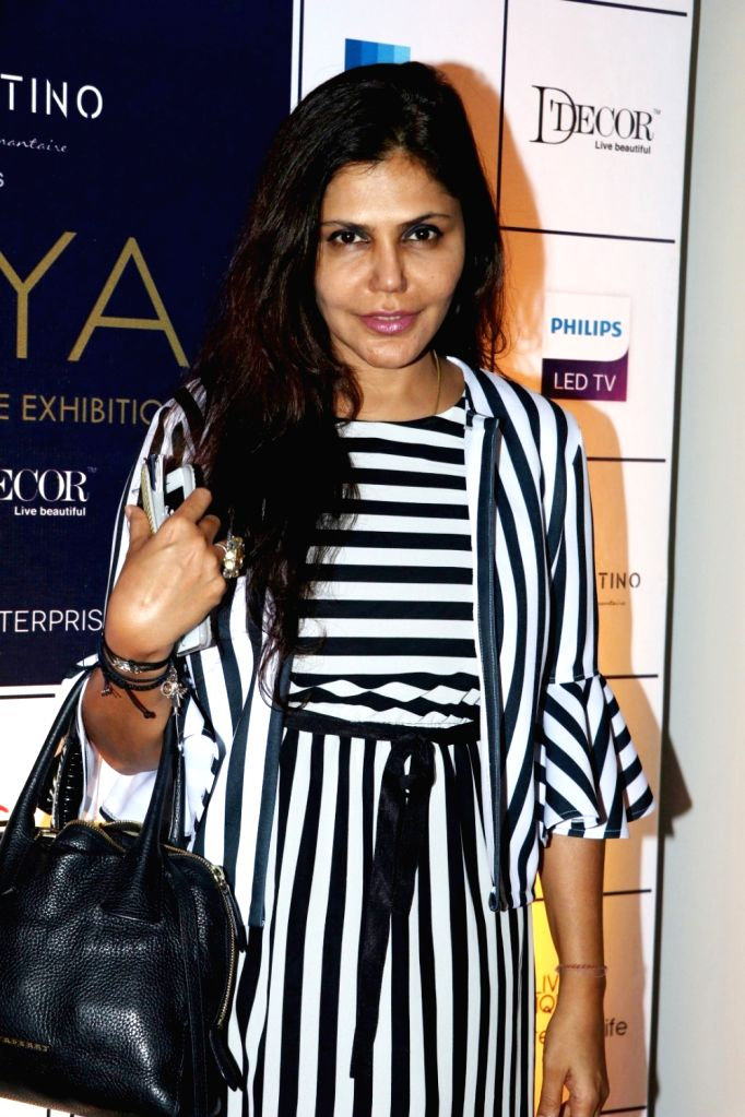 Architect and interior designer Nisha Jamwal during the announcement of Cineyug's first edition of luxury and lifestyle exhibition Joya curated by Yasmin Morani and Priyanka Soorma, in ...