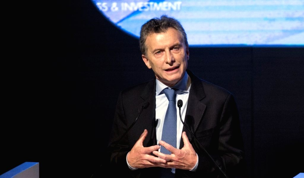 Argentina President Mauricio Macri. (File Photo: IANS)