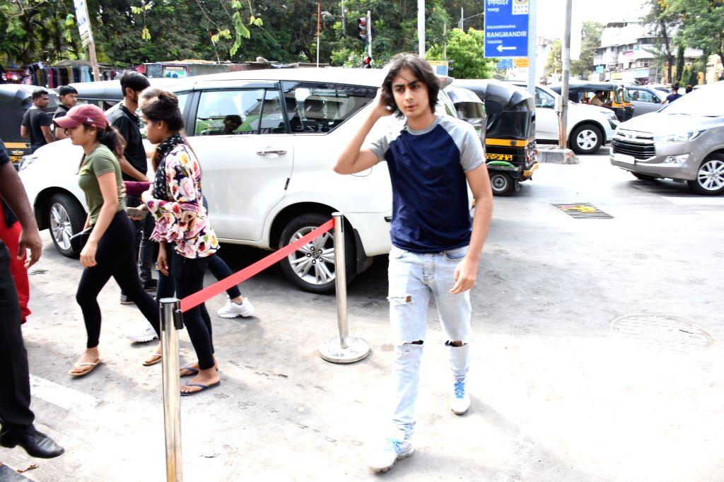Arhaan Khan, son of actor Arbaaz Khan and Malaika Arora seen at Bandra, in Mumbai, on June 2, 2019. - Arbaaz Khan, Arhaan Khan and Malaika Arora