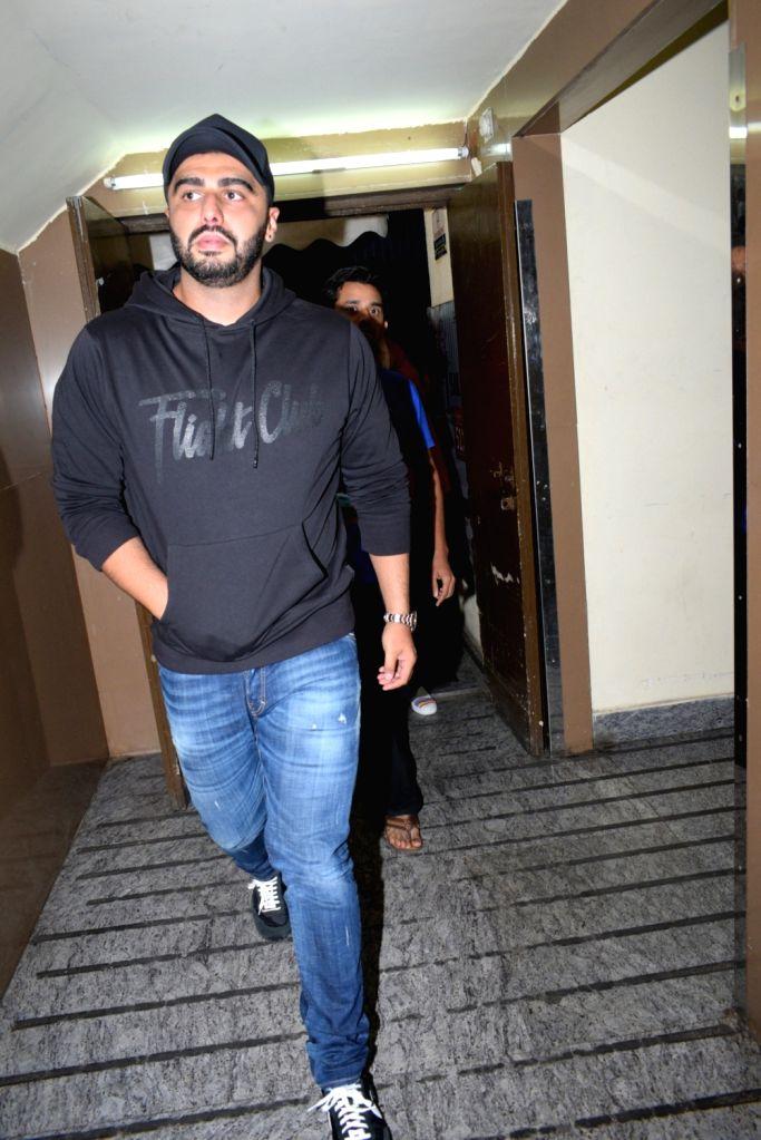 Arjun & Anshula Kapoor seen in Mumbai on July 19, 2019. - Anshula Kapoor