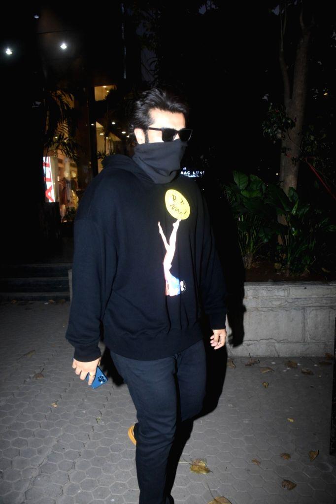 Arjun Kapoor spotted at Ageless Clinic in Santacruz on Sunday 28th February 2021. - Arjun Kapoor