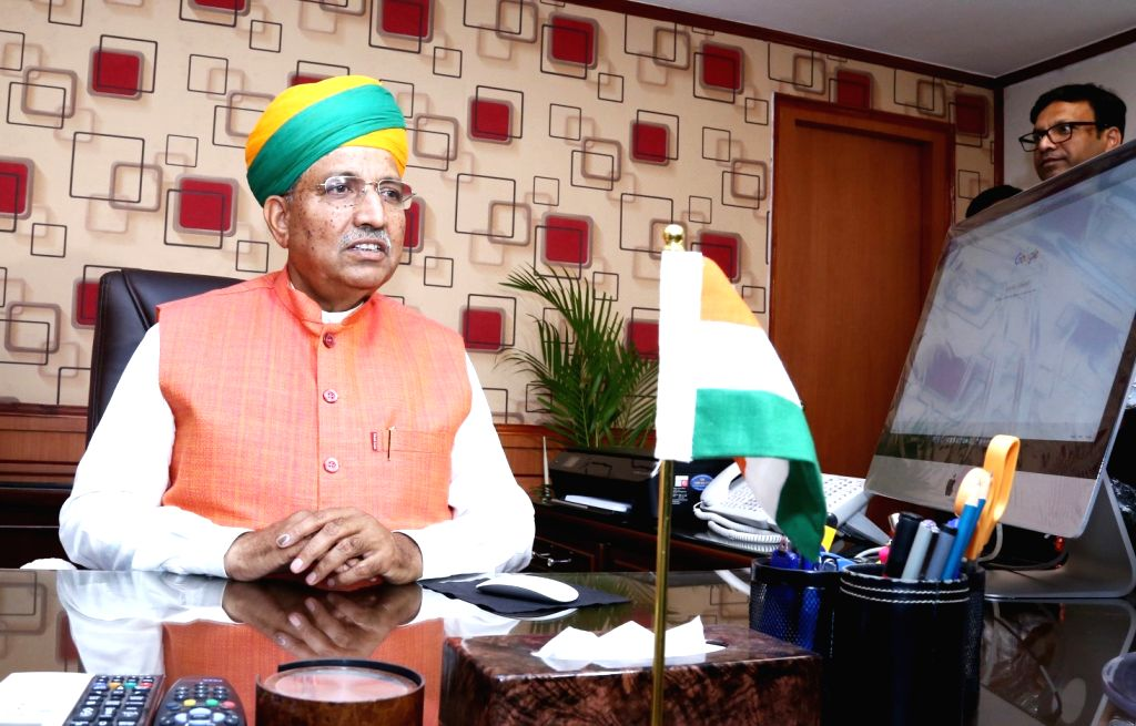 Arjun Ram Meghwal. (File Photo: IANS)