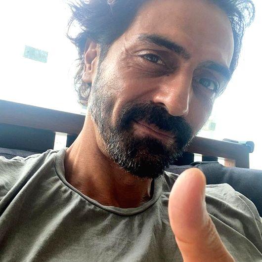 Arjun Rampal tests Covid negative, to re-test in 4 days . - Arjun Rampal
