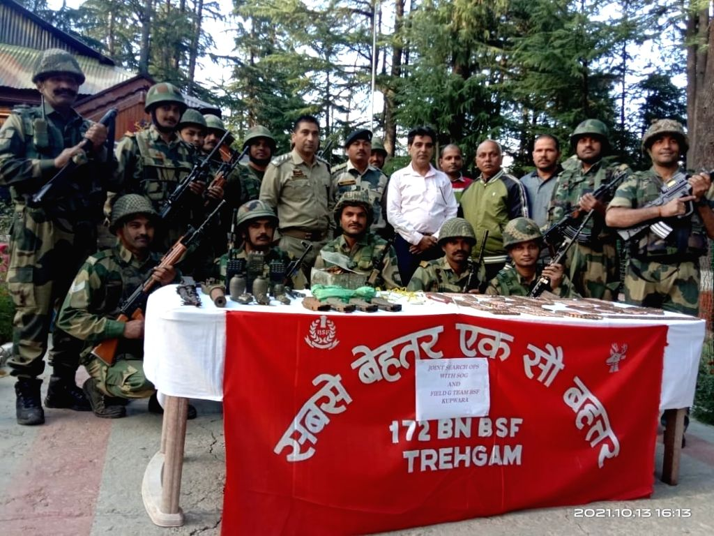 Arms cache recovered in Kashmir