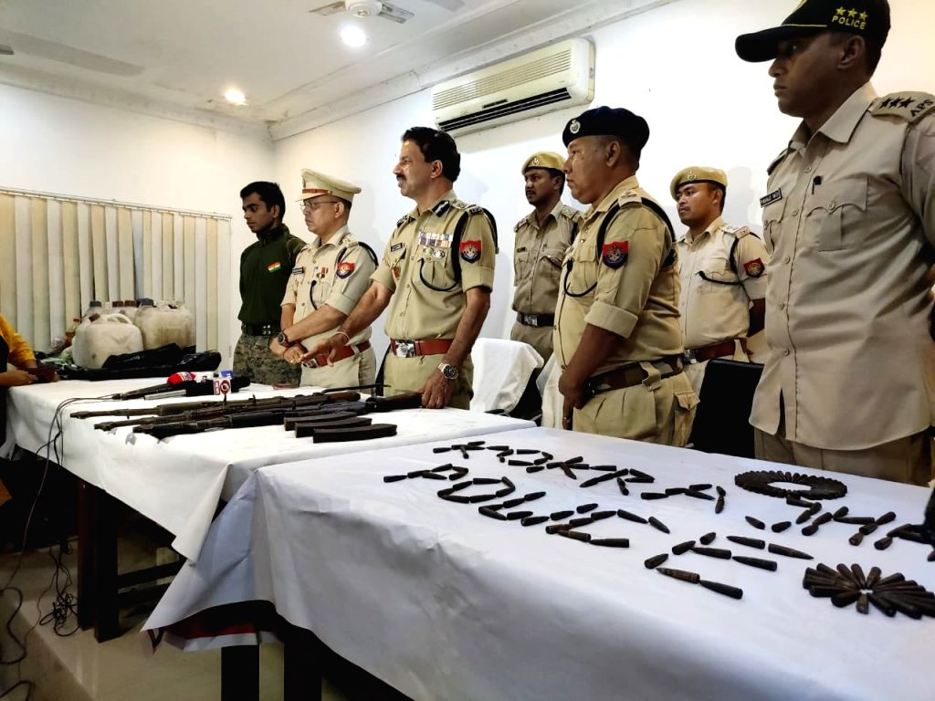 Arms recovered in Assam district ahead of PM???s visit