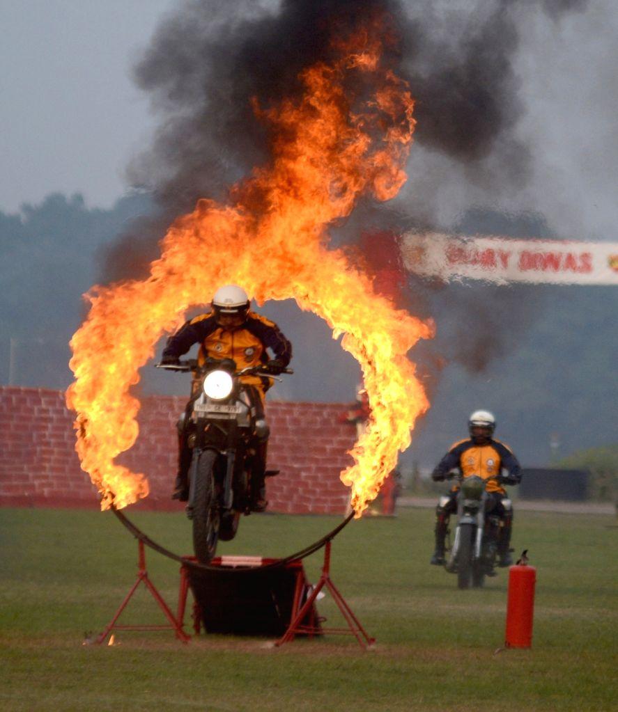 Army personnel show their skills Vijay Diwas celebration in Kolkata on Dec 15, 2019.