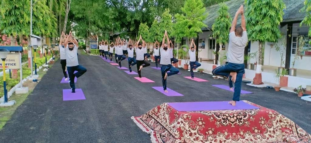 Army soldiers, Governors, CMs perform Yoga across NE states.