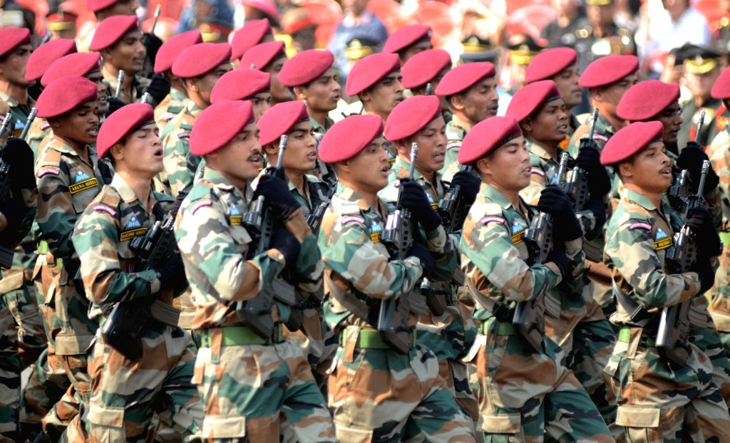 Army to screen its troops daily during morning parade. (Photo: IANS)