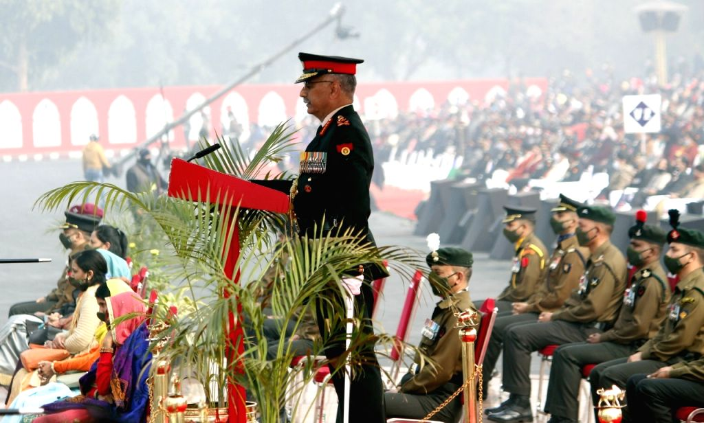 Around 300-400 Pak terrorists trying to infiltrate across LoC: Indian Army Chief (Photo By Qamar Sibtain)