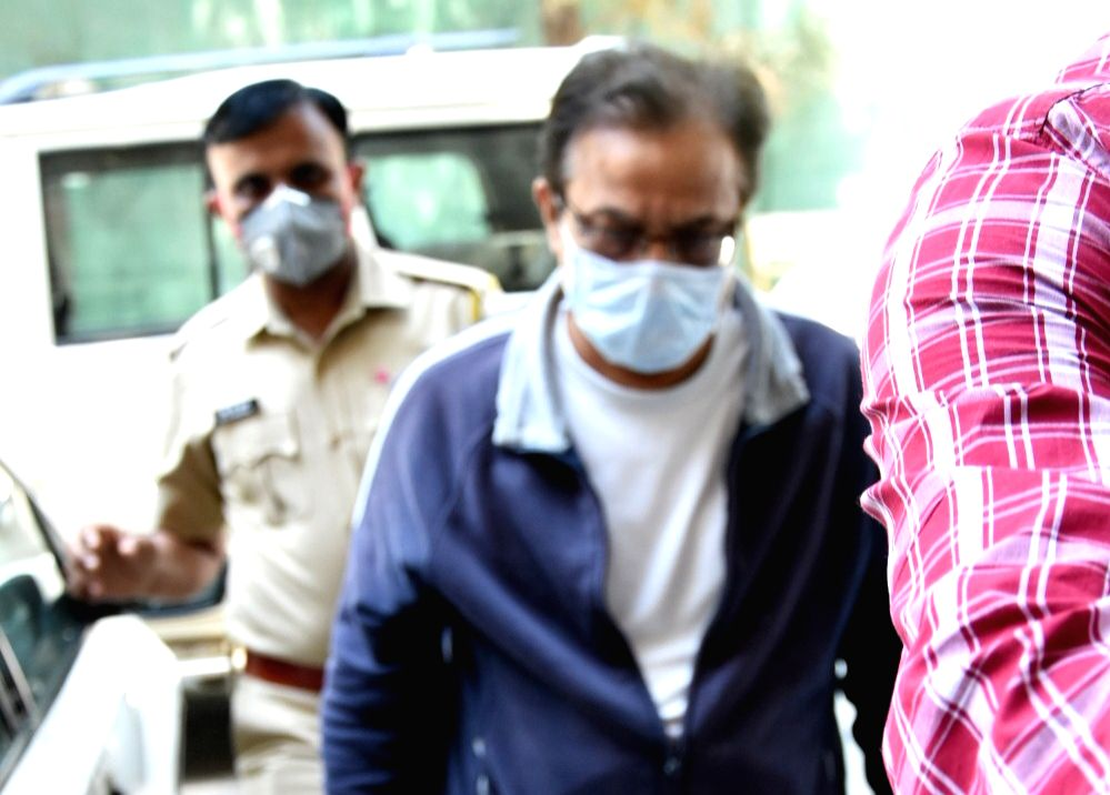 Arrested Yes Bank founder Rana Kapoor arrives to appear before the Enforcement Directorate (ED) in Mumbai on March 18, 2020. The ED had filed a fresh case of money laundering against Rana ... - Bindu Kapoor
