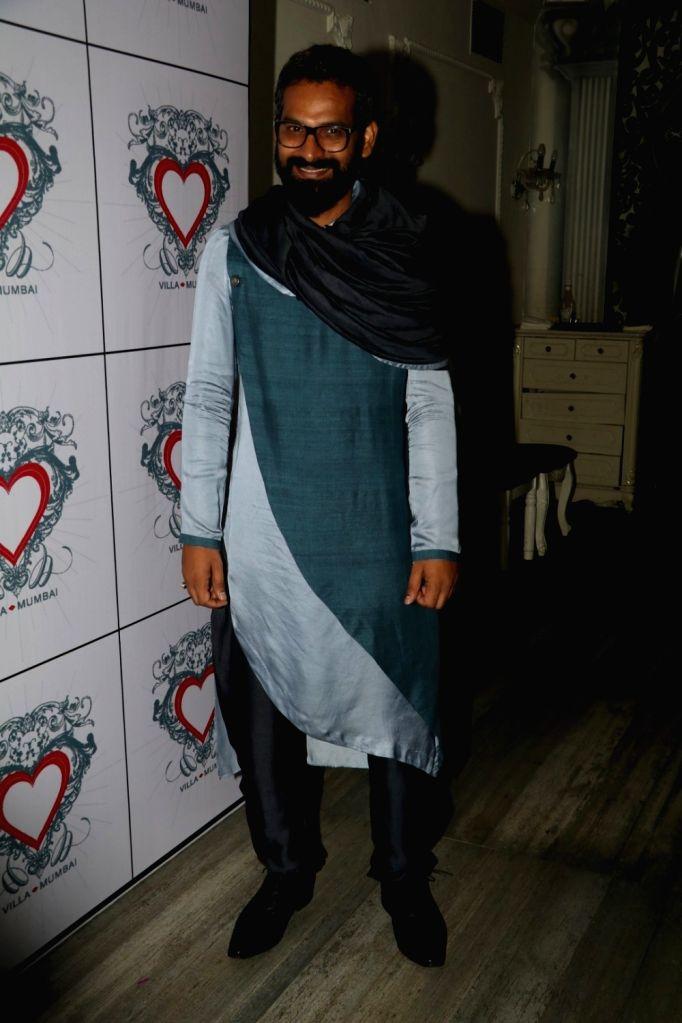 Art director Saini Johray during the birthday celebrations of art director Saini Johray in Mumbai on June 28, 2016. - Saini Johray