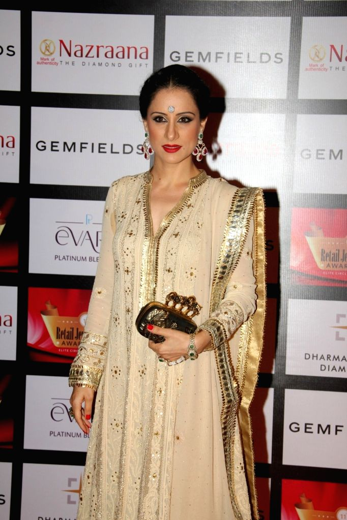 Artist and Muralist Rouble Nagi during the Gemfields and Nazraana Retail Jeweller India Awards 2015, in Mumbai on Aug 8, 2015.