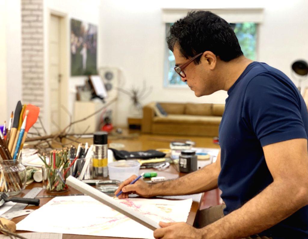 Artist Jitish Kallat - Jitish Kallat