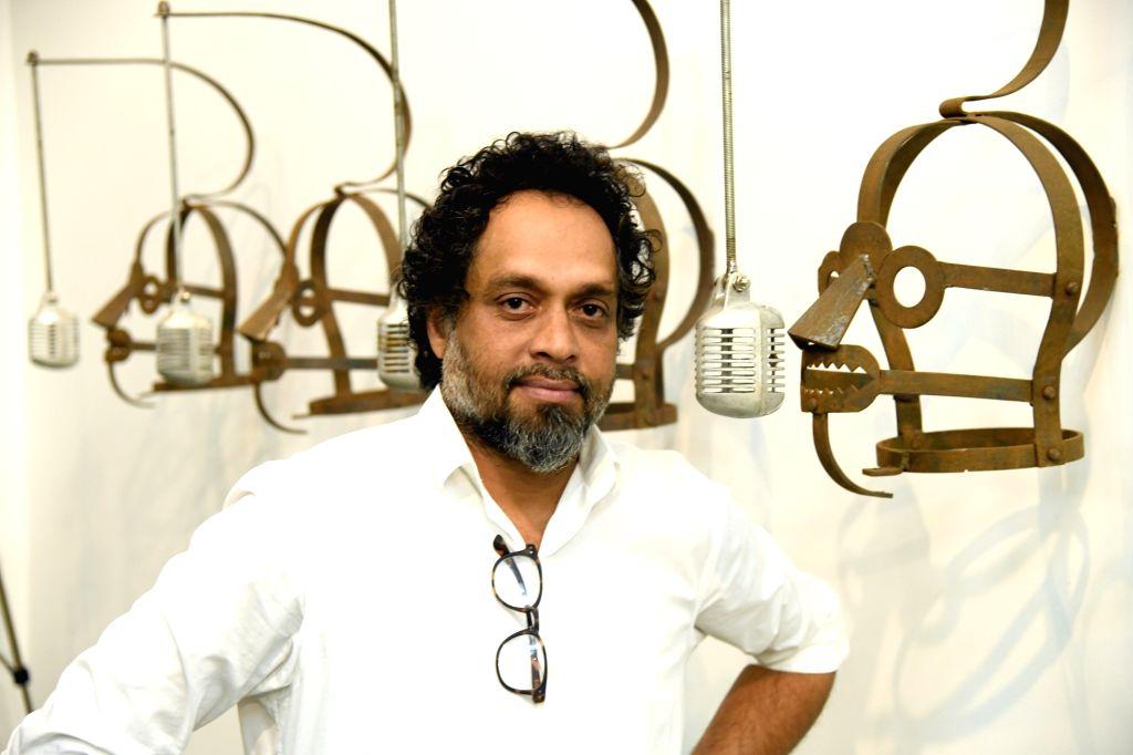 Artist Riyas Komu's interview. - Riyas Kom