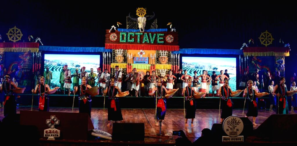 Artistes perform during Octave 2019 in Patna on Dec 13, 2019.