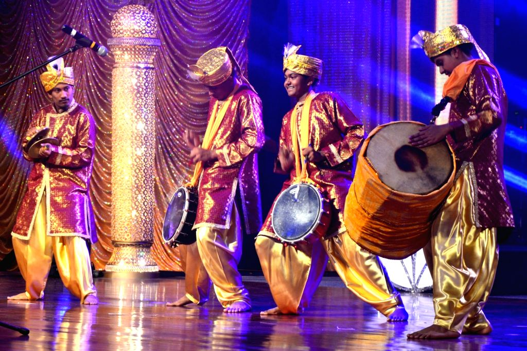 """Artists play :Tassa"""" - a form of kettle drum during the inauguration of National Council of Indian Culture's (NCIC) 29th annual Divali Nagar celebrations in Chaguanas, Trinidad and Tobago on Nov ..."""