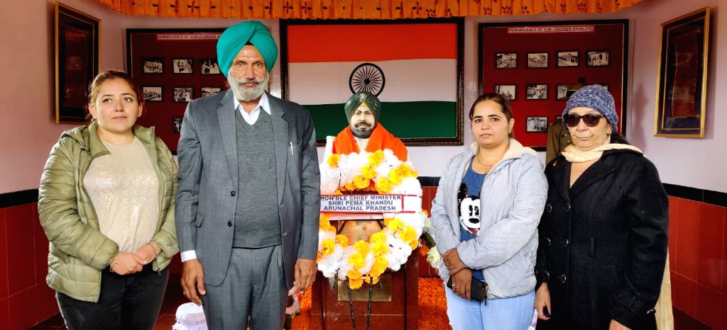 Arunachal erects war memorial for martyr of 1962 India-China war.