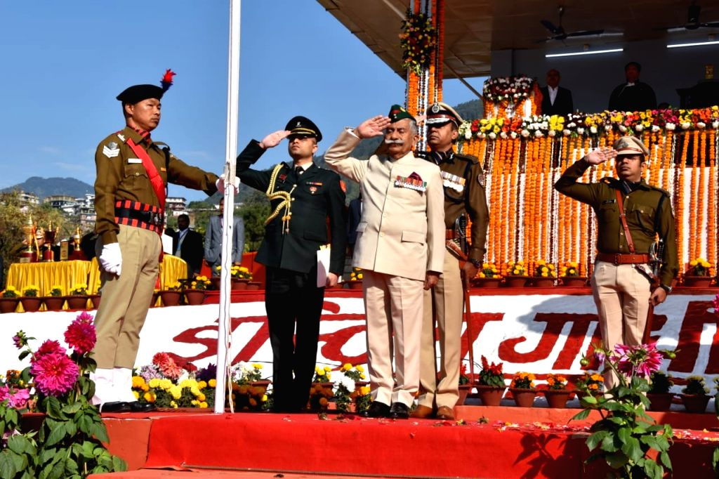 "Arunachal Pradesh Governor Brig (retd) B.D. Mishra on the occasion of 71st Republic Day, here on Sunday, urged people to join hands with the state government to deal with ""hydra-headed monster ... - D. Mishra"