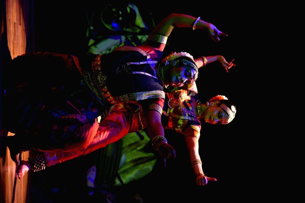 Arunima Kumar and her dance group reciting Bhagavad Gita's 11th chapter - Arunima Kumar