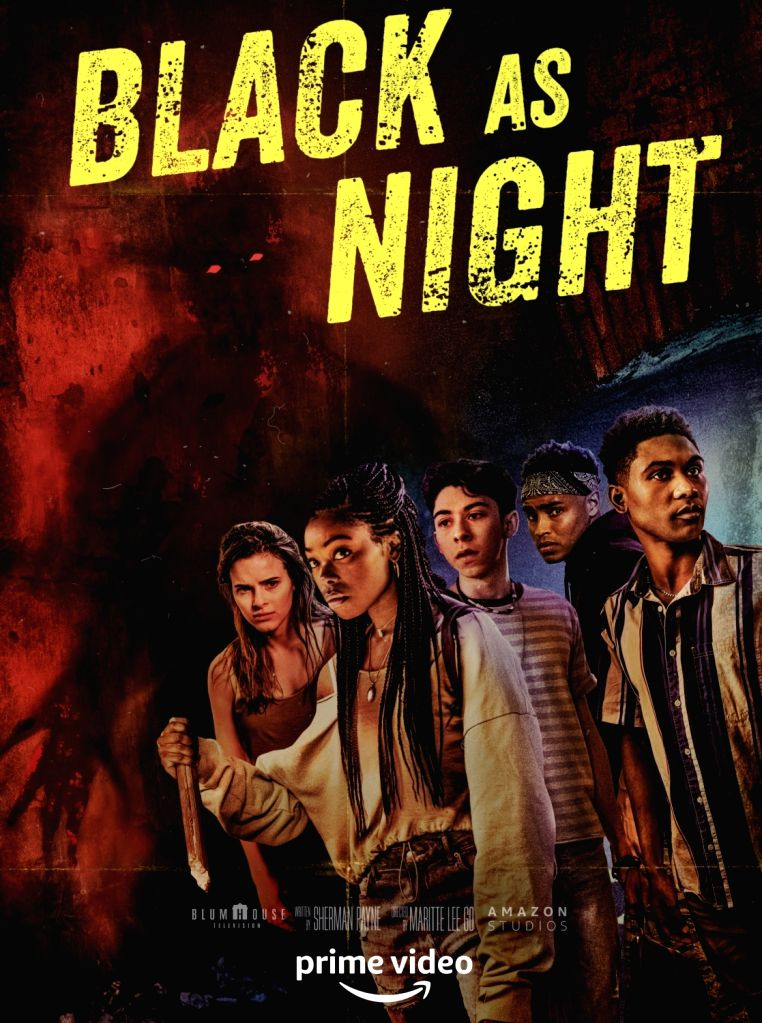 AS BLACK AS NIGHT.