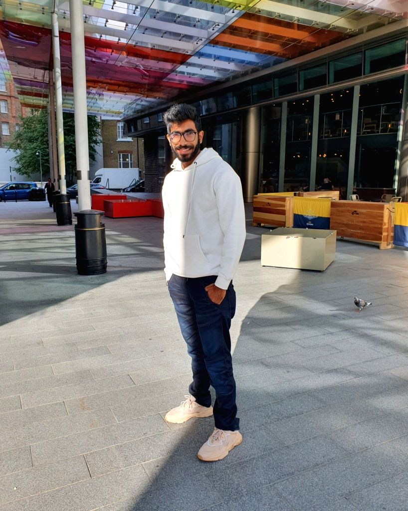 As India continues to maintain its dominance over South Africa in the second Test minus his services, star pacer Jasprit Bumrah shared a motivational post on Twitter on Thursday.