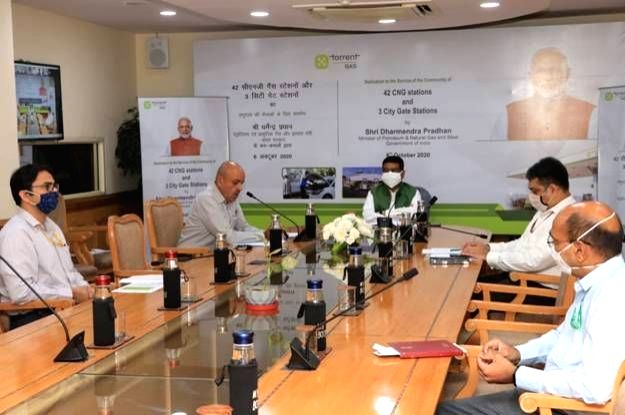 As part of the plan to develop a gas-based economy in the country by making natural gas available across the upcountry regions, Union Petroleum & Natural Gas and Steel Minister ... - Dharmendra Pradhan