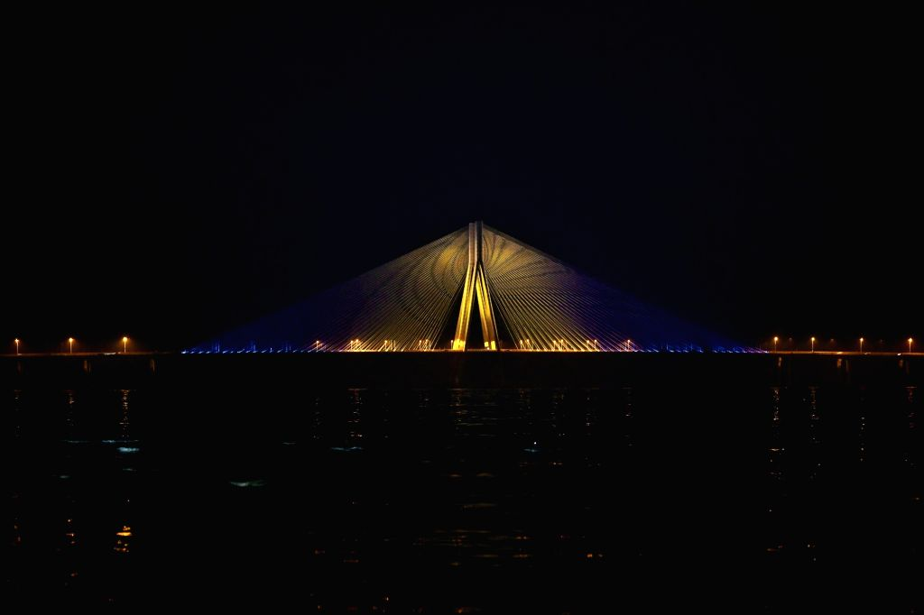 As part of the #SwedenIndiaSambandh campaign, the Consulate General of Sweden, Mumbai and the 'Rise Against Hunger India' (RAHI) have lit up the 5.6 km Rajiv Gandhi Bandra???Worli Sea Link ... - Rajiv Gandhi Bandra