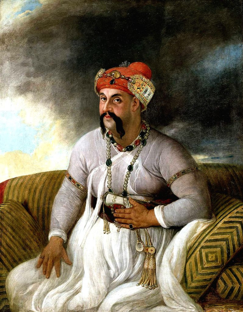 Asaf-uda-Daula, the fourth Nawab of Avadh (1775-98) and builder of its most iconic structures