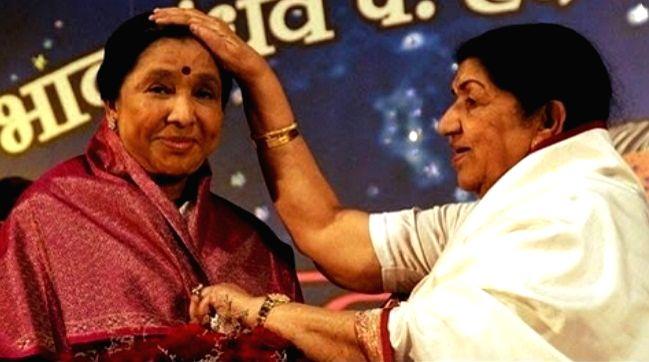 Asha Bhosle: Lata didi and I rarely discuss music. - Asha Bhosle
