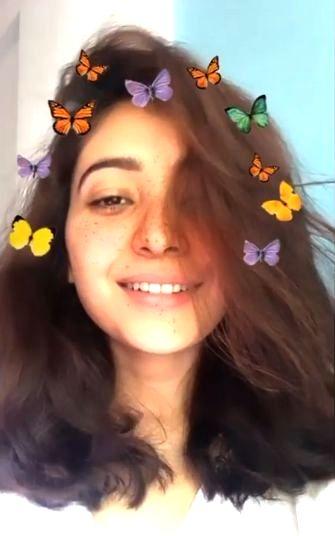 Asha Negi dons short hair look.