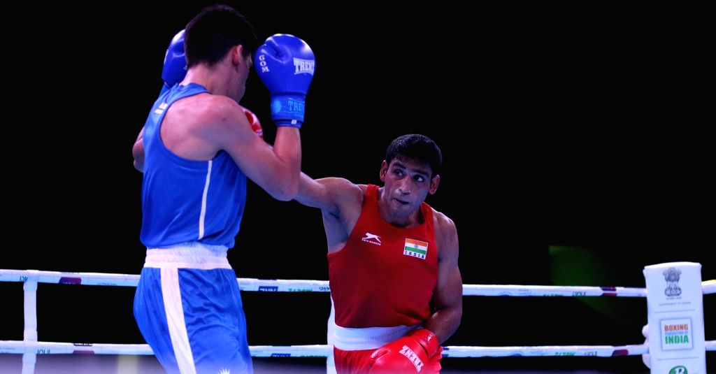 Ashish Kumar will hunt for the gold after a 4-0 victory over Uzbek Fanat Kakhramonov at the Thailand Open International Boxing Tournament. - Ashish Kumar